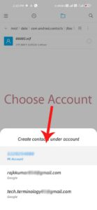 choose-google-account-to-store-contact